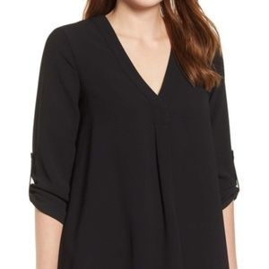 Everleigh Roll Tab Sleeve Tunic